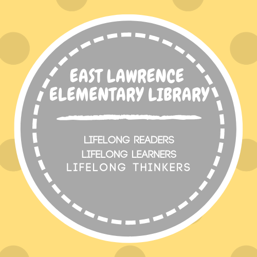 Library Logo-East Lawrence Elementary Library Lifelong Readers Lifelong Learners Lifelong Thinkers