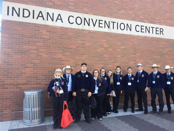 FFA Members at the National FFA Convention