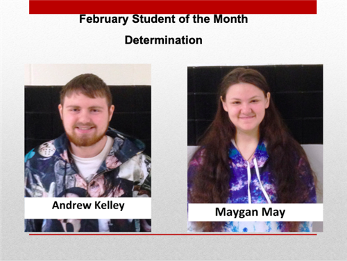 Student of the Month-February